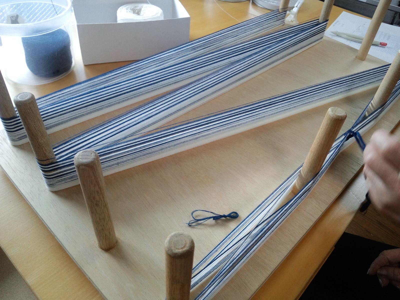 手織り教室 4月21日